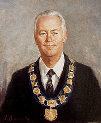 Mayor of Picton, Ontario, Canada (Oil on canvas), by Igor Babailov