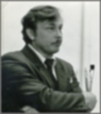 Artist and composer Valery Babailov, Igor Babailov's father.
