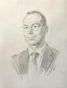 Jeff Balser, Vanderbilt University. Life portrait by Igor Babailov