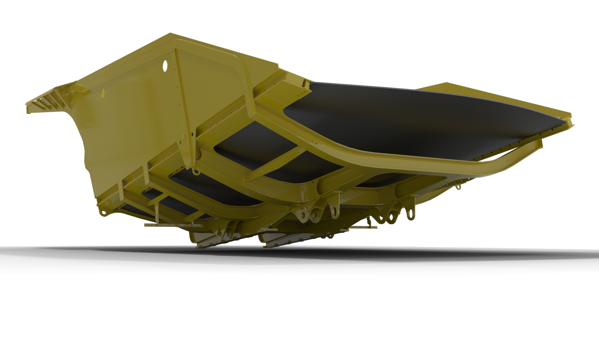CAT777 Mining Truck Flex Floor