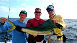 Mahi caught fishing charter carolina