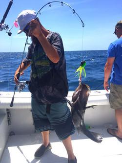 fish caught carolina beach charter