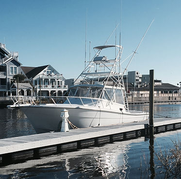Charter boat in Carolina Beach NC