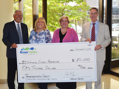 $50,000 Grant from River Valley Health Foundation