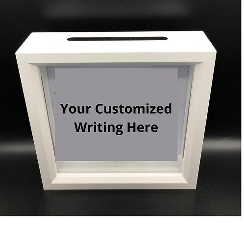 Cents Savvy Cash Box - Customizable
