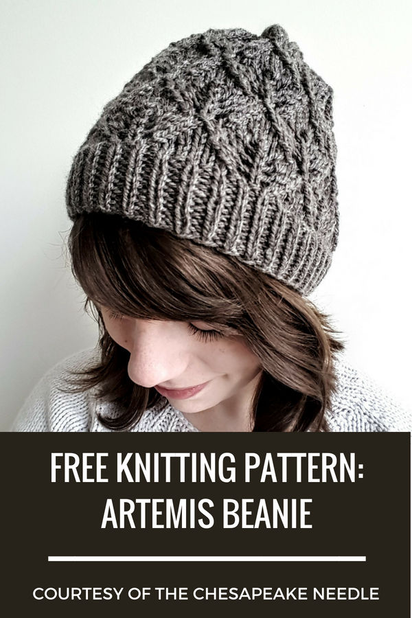 Free Knitting Pattern Artemis Beanie