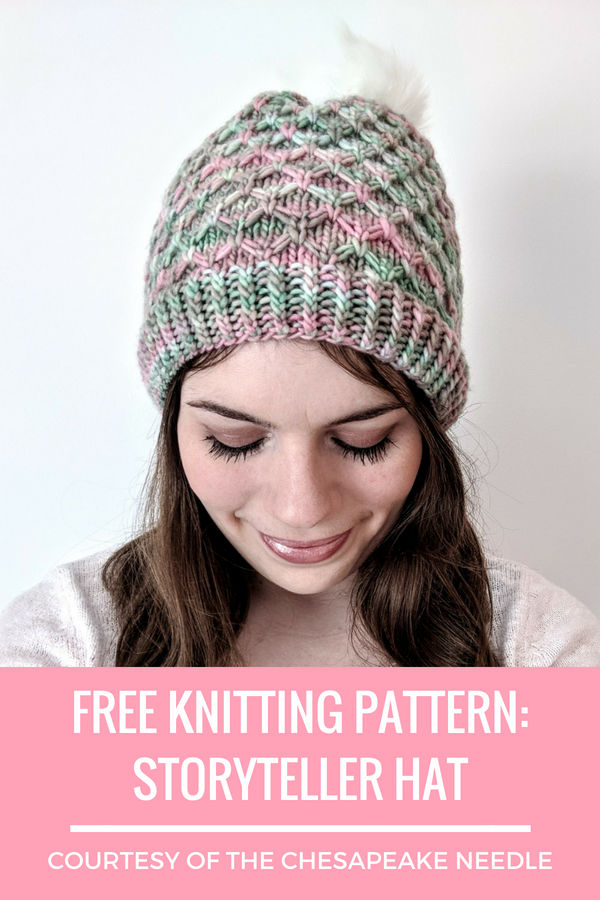 Free Knitting Pattern Storyteller Hat