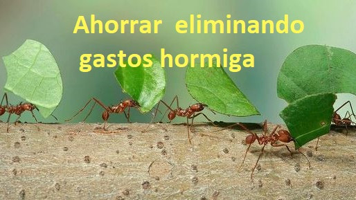Ahorrar dinero eliminando los gastos hormiga