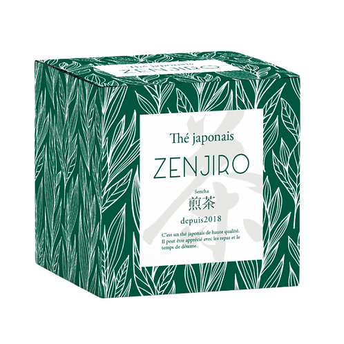 ZENJIRO Green Tea - Mino Shirakawa 1/100 x4 boxes