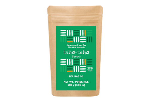 tcha-tcha - Sencha Tea Bag 200g