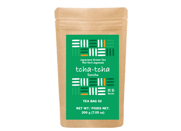tcha-tcha - Sencha Tea Bag 200g