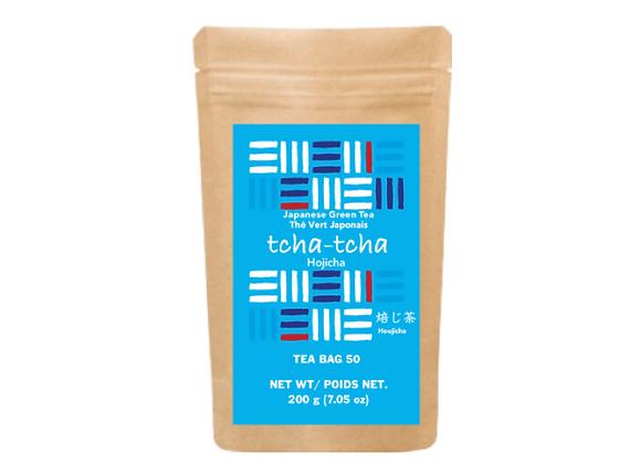 tcha-tcha - Hojicha Tea Bag 200g