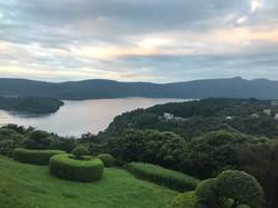 View of Lake Ashi from Hakone Lab