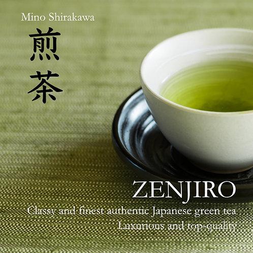 ZENJIRO - Sencha Mino Shirakawa 40g x 10bags