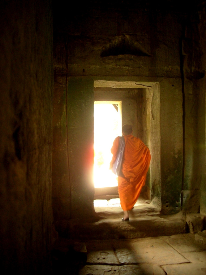 Follow the way of Enlightenment