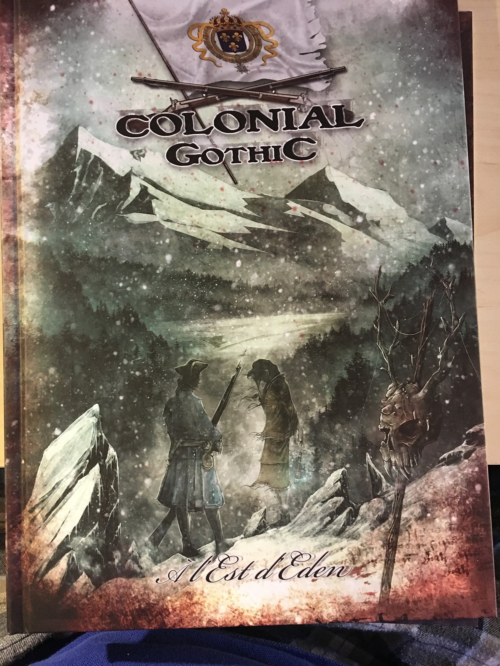 French translation of Colonial Gothic (front cover)