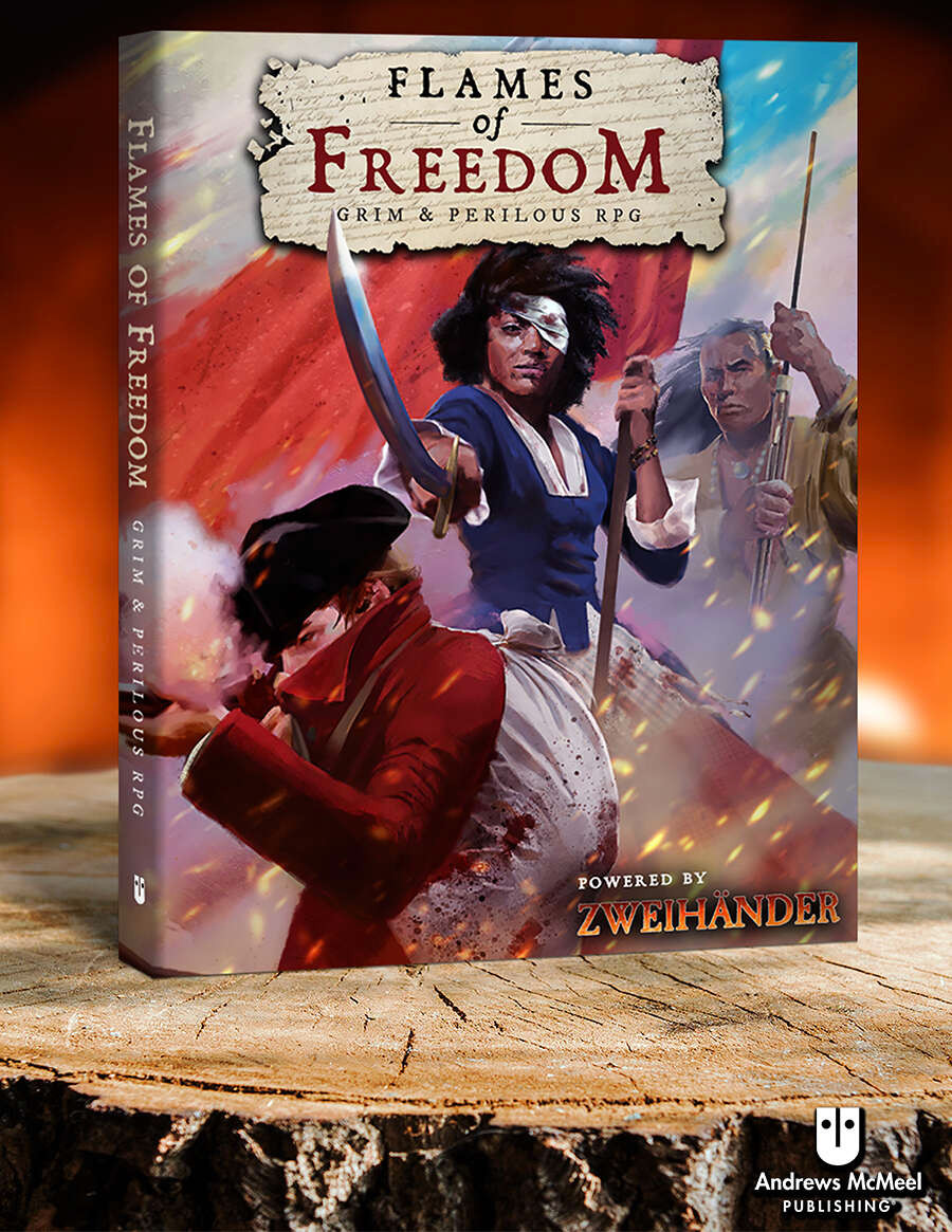 Flames of Freedom Grim & Perilous cover