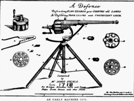 Colonial Gothic: The Puckle Gun