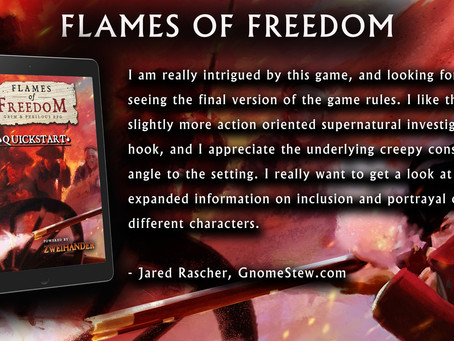 FLAMES OF FREEDOM Quickstart: Review