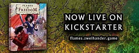 Flames of Freedom Kickstarter