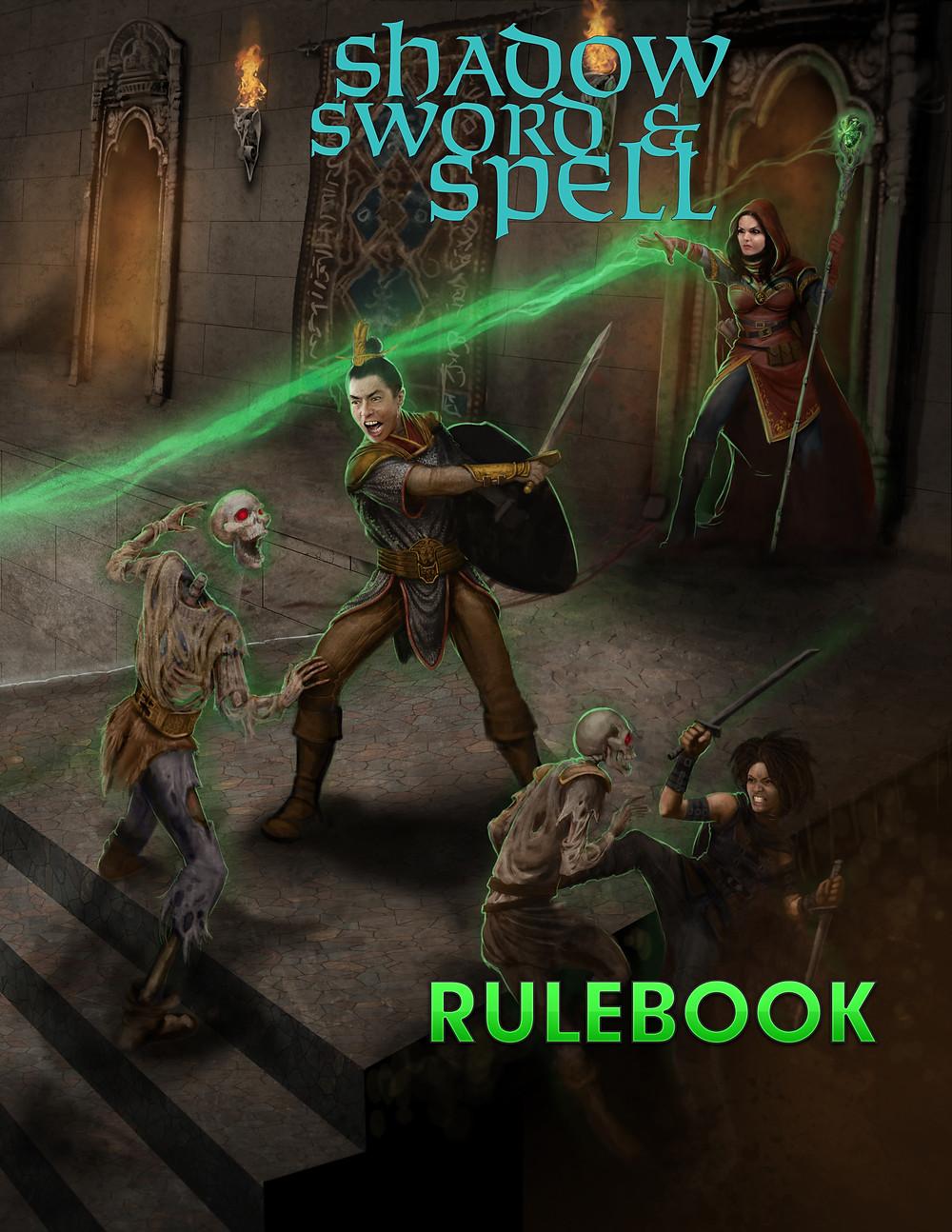 Cover for Shadow, Sword & Spell 2E