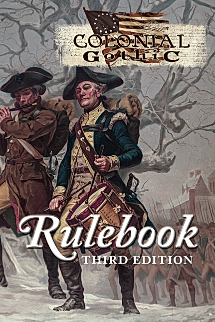 Colonial Gothic Rulebook 3rd Edition -  Rogue Games