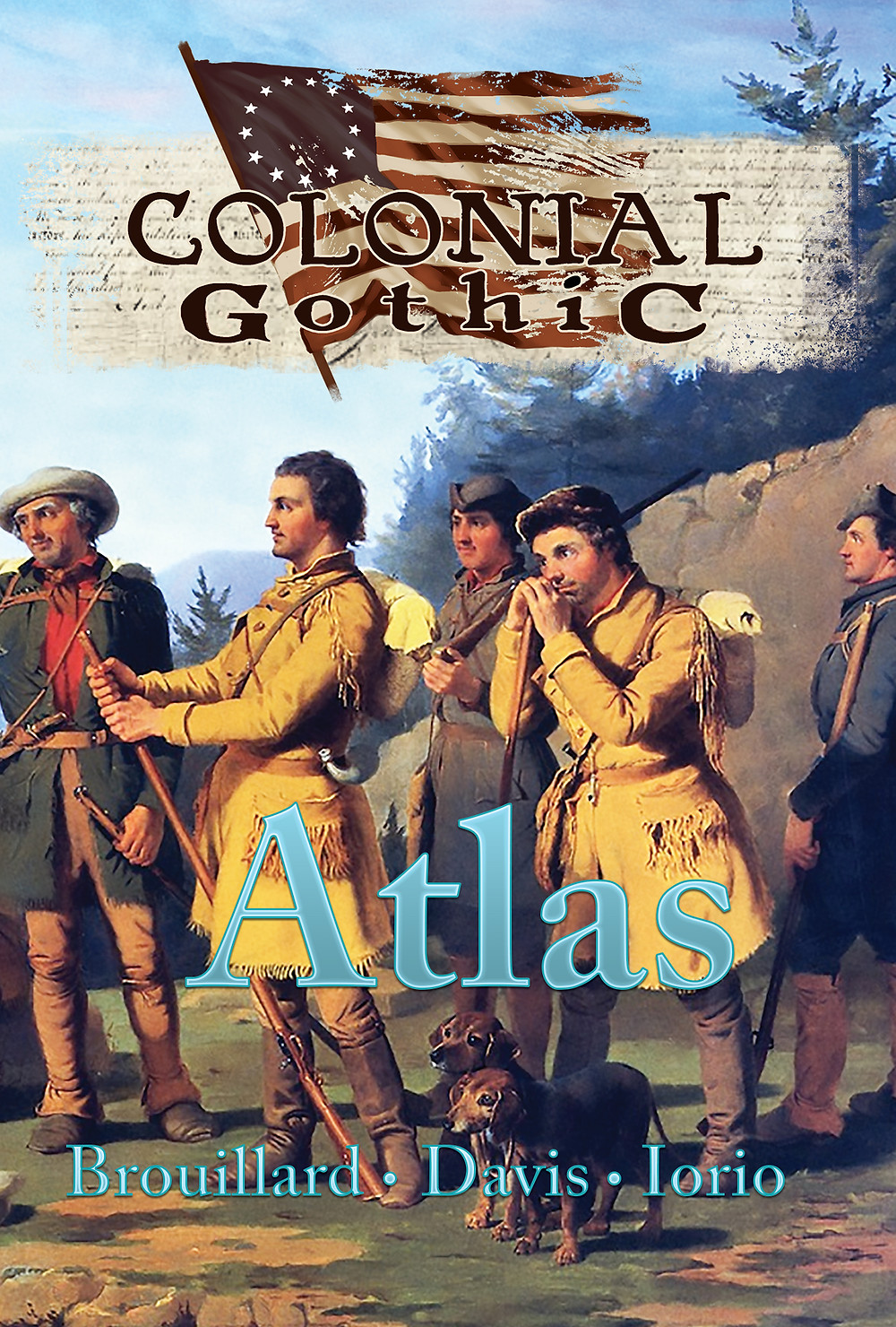 The cover for Colonial Gothic's Atlas
