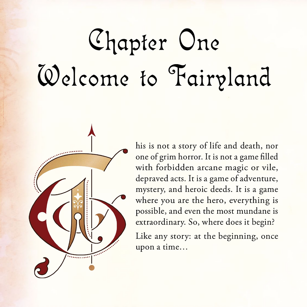 Fairyland preview page 1