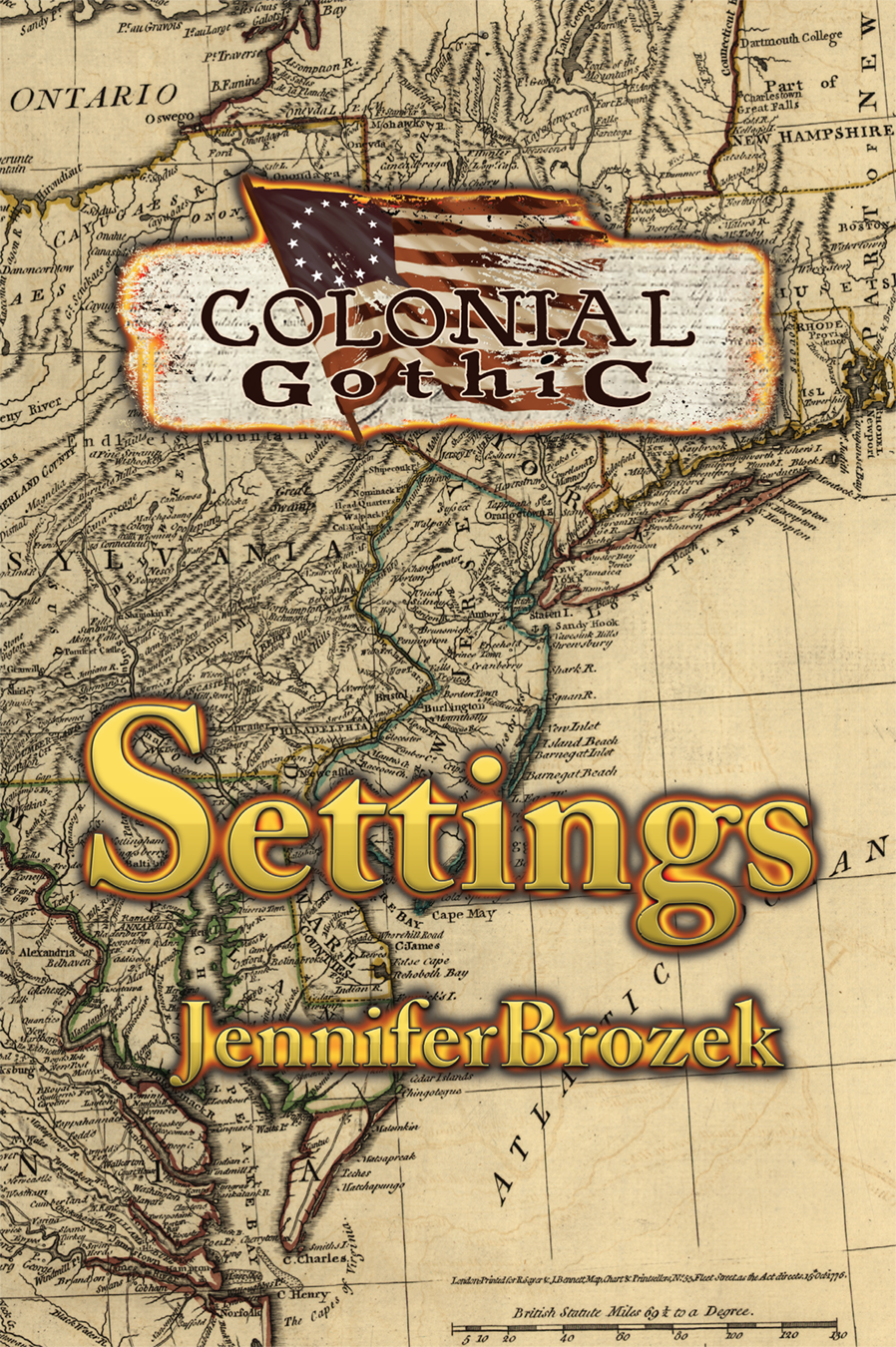 Cover for Colonial Gothic: Settings