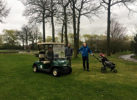 Eerste projectvergadering @ Kempense Golfclub