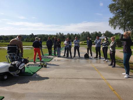 G-golf bijscholing in Golf Puyenbroeck