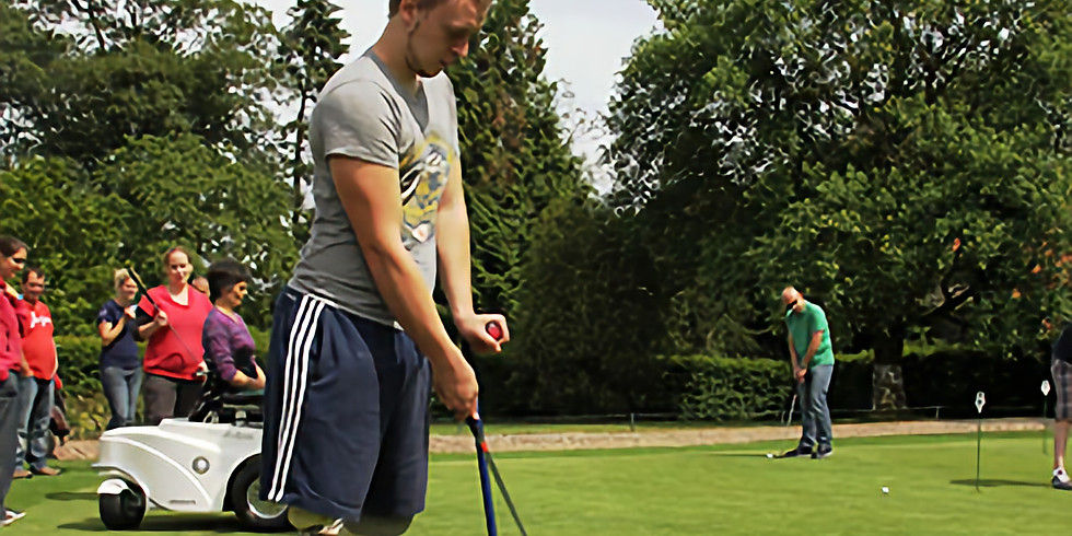 G-golf - Eerste regionale training in Beveren Golfclub.