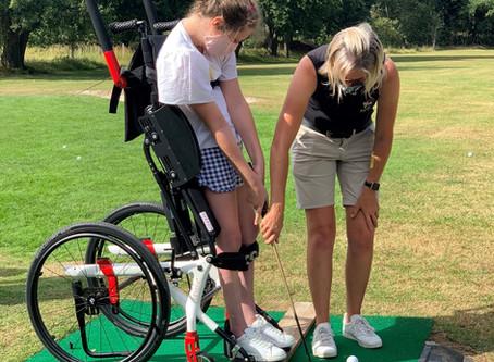 Onze eerste Junior G-golf initiatie @ De Krikskens