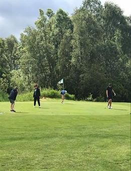 Eerste regionale training G-Golf ooit !
