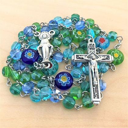 Green & Blue Grace