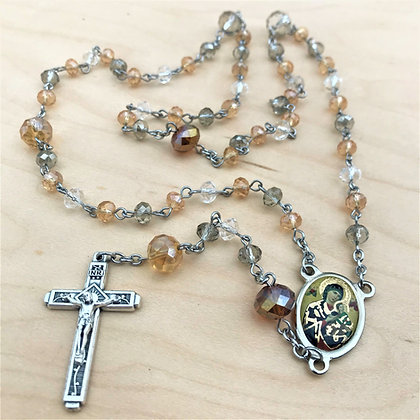 Faceted Again Rosary 2