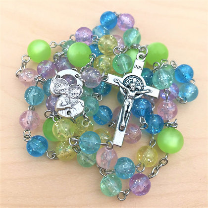 Glitter Again Rosary