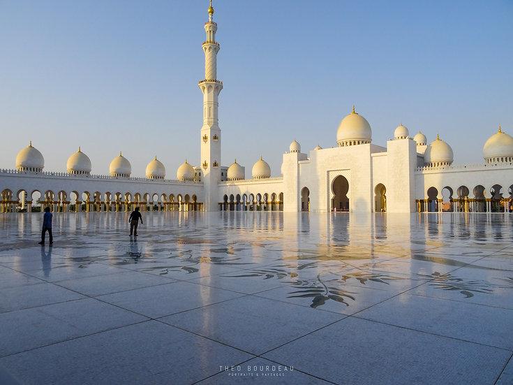Mosquée Seikh Zayed - Abu Dhabi