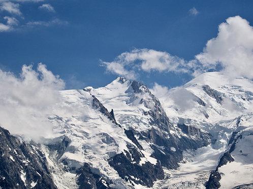 Massif of Mont-Blanc