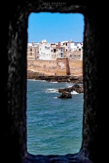 Médina d'Essaouira vue du Bastion Nord