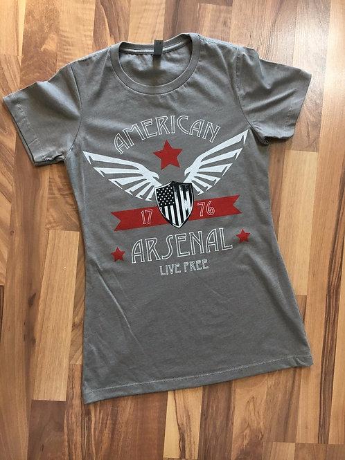 Womens American Wings Tee