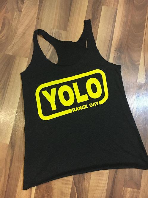 Womens -YOLO Range Day tank