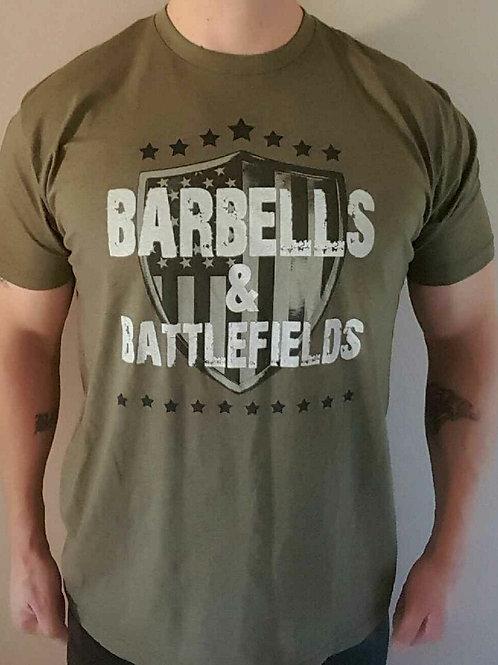 Mens - Barbells and Battlefields