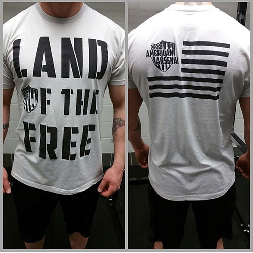 Mens Land of the Free Tee