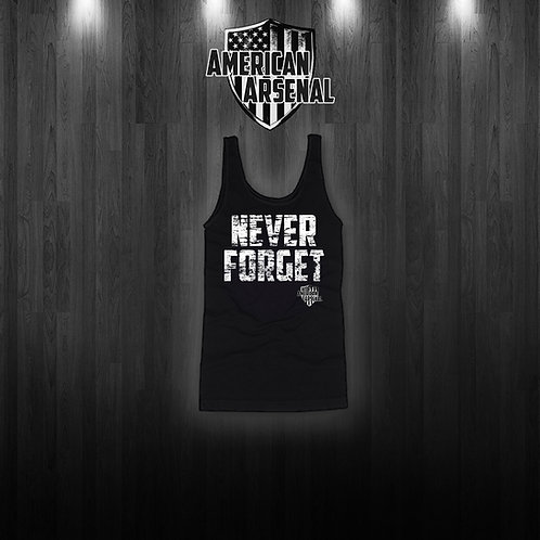 Mens NEVER FORGET Tank