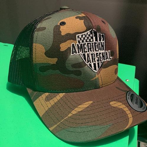CAMO LOGO SnapBack Hat