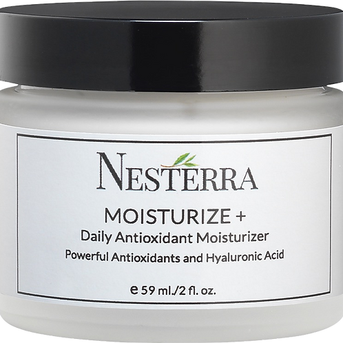 Nesterra Moisturize+ - Daily Antioxidant Moisturizer