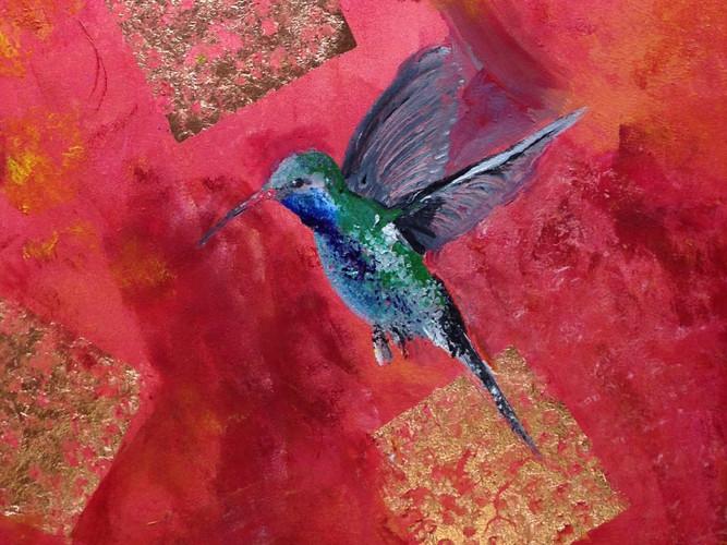 Hummingbird Don't Fly Away