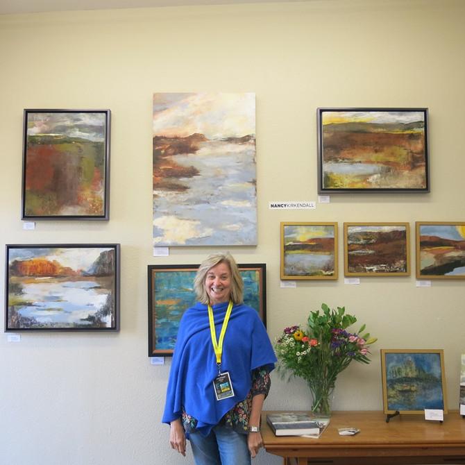 Nancy at Boulder Open Studio 2019