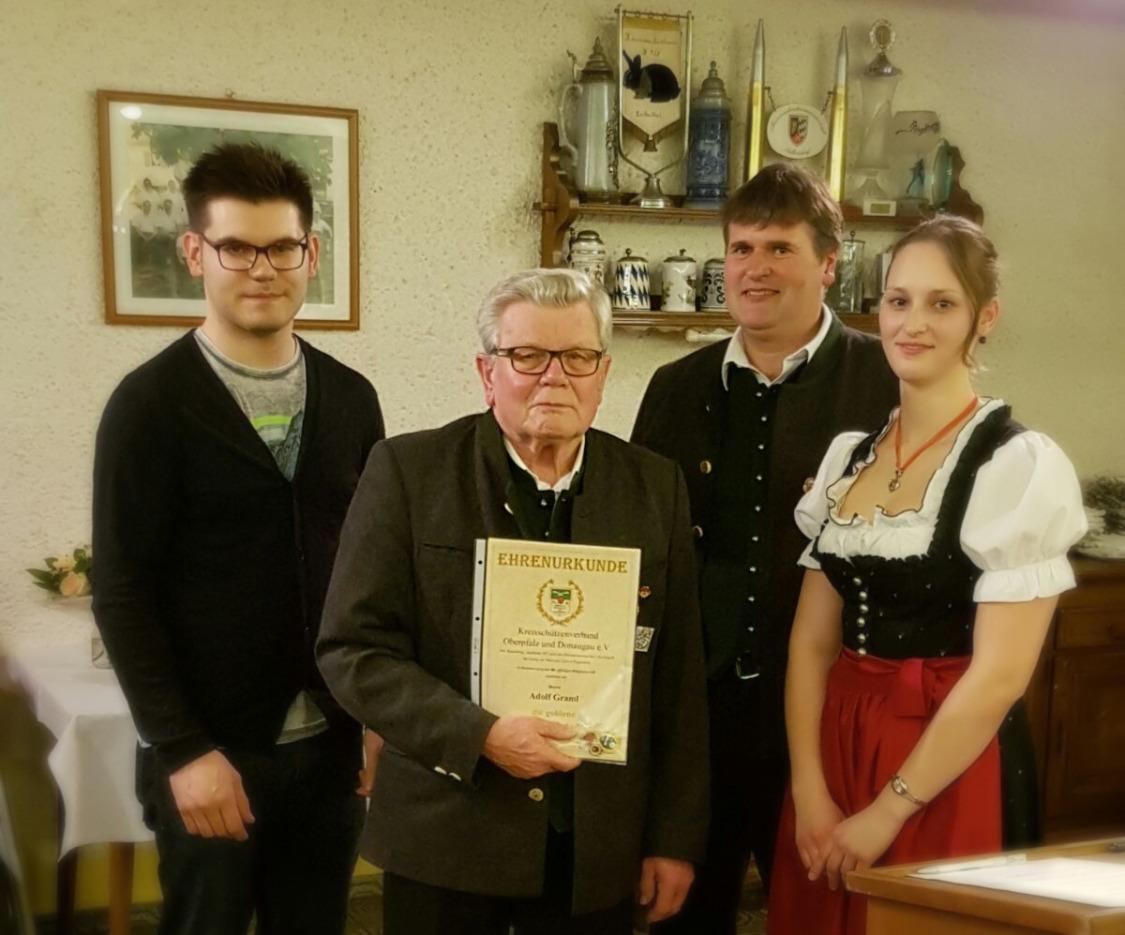 60 Jahre aktive Mitgliedschaft